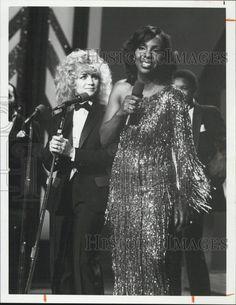 (1981) Press Photo Singer Gladys Knight & Barbara Mandrell