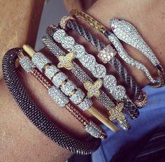 pulseiras malha italiana helena bordon rosa leal