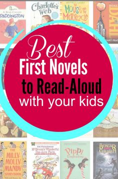 "These novels make for FABULOUS first novels to read aloud with your kids. - Quality books NOT ""twaddle! Read Aloud Books, Novels To Read, Good Books, Kids Reading, Reading Lists, Reading Groups, Reading Time, Read Aloud Revival, First Novel"