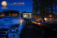 FunFlicks Hosted Car Club Drive-in Movie!