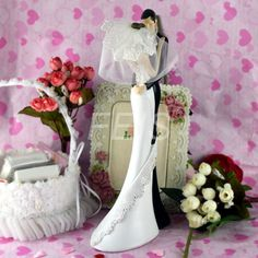 Find More Event & Party Supplies Information about Wholesale 4pcs/lot Fashion Resin wedding Cake Topper Groom And Bride Affectionate embrace Cake Topper cake accessory Wedding,High Quality wedding cake decorating accessories,China wedding hair accessory Suppliers, Cheap accessories box from [FEIS BRAND]Wedding Favors Wholesale Store on Aliexpress.com