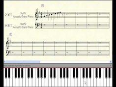 CLASE DE PIANO LECCION 23 Triadas de sol mayor en acordes