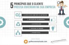 5 princípios que o cliente precisa enxergar na sua empresa. #carreira