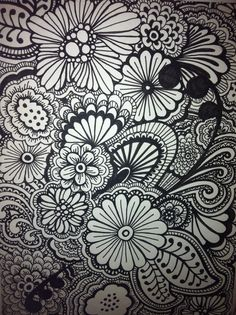 Henna Drawing