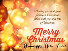 merry christmas wishes happy new year