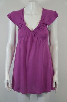 DESIGNER WOMEN'S PURPLE DRESS SIZE M ON SALE #DESIGNER #Sheath #Casual