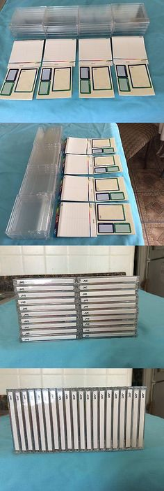 Media Cases and Storage: 20 Empty Case Minidisc,Label And Cover. -> BUY IT NOW ONLY: $43 on eBay!