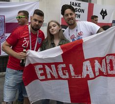 England fans say they are 'nervous' and 'slightly sick' ahead of the crunch Croatia match England Fans, Mail Online, Daily Mail, World Cup, Croatia, Sick, Sayings, World Cup Fixtures, Lyrics