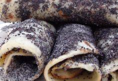 Mákos laska-palóc krumplilángos édesen Ale, Pork, Healthy Eating, Ice Cream, Meat, Hungary, Pork Roulade, Ice Creamery, Healthy Diet Foods
