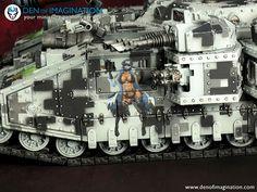 Warhammer 40k Memes, Warhammer Paint, Warhammer 40000, Warhammer Imperial Guard, 40k Imperial Guard, Space Marine Dreadnought, Warhammer 40k Miniatures, Painting Services, Nose Art