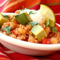 """Tex-Mex Quinoa Salad 