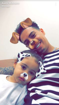 Dada and Bebe ♠️❣️ Ace Family Wallpaper, Brother Sister Photography, Austin And Catherine, Family Poems, Catherine Paiz, Cute Family Photos, Ace Hood, Dad Baby, Daddy Daughter