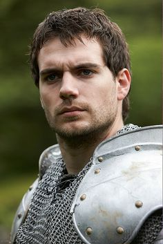 Henry Cavill. the Tudors
