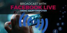Broadcast Facebook Live