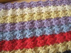 Regnbuetørklæde