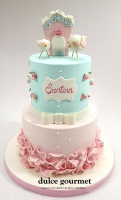 Shabby chic style for Santina! by Silvia Caballero
