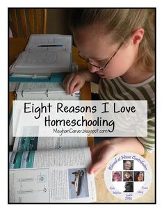 WholeHearted Home: Eight Reasons Why I Love Homeschooling {Blessed At Home} - You will be encouraged and challenged!! Read more by clicking the image and when it enlarges, click through to the blog.