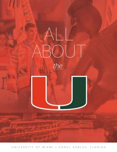 All About the U : University of Miami Viewbook  At the University of Miami (the U), your education is distinctly your own. We give you the freedom to draw from academic offerings spanning 11 schools and colleges and customize your learning with the topics you care about most. We invite you to explore the cultures, ideas, and opportunities that prepare you for success in a career that reflects your passions.