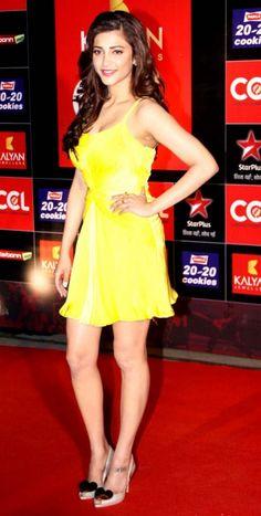 Shruti Haasan, Genelia D'Souza & Sridevi At CCL Red Carpet | Fandiz India - Latest Indian Fashion Trends