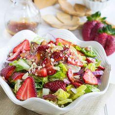 Strawberry, Bacon, and Feta Salad