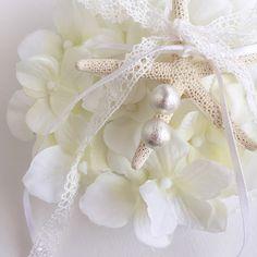 リングピロー〔星の貝がら〕手作りキット|結婚式演出の手作りアイテム専門店B.G.