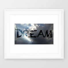 Clearly+A+Dream+Framed+Art+Print+by+Jaymee+-+$35.00