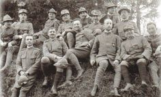 WWI officers  Btg. Alpini  - Sette Comuni - Italia