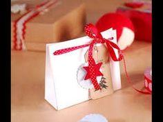 Como fabricar Bolsas Navideñas y Moños de Regalo- HogarTv por Juan Gonzalo angel - YouTube