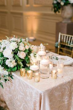 Yasmin & Matt- Salamander Resort Wedding — Courtney Inghram Floral Design and Hand-Dyed Silk Ribbon Floral Wedding, Wedding Colors, Wedding Flowers, August Wedding, Wedding Day, Wedding Reception, White Floral Centerpieces, Southern Bride, Ceremony Arch