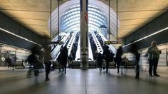 Canary Wharf Londres Opera House, Building, Travel, Modern Living, Elevator, Viajes, Buildings, Destinations, Traveling