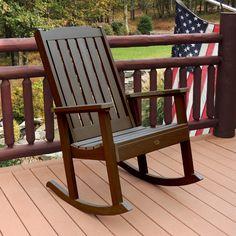 Highwood® Lehigh Rocking Chair Eco-Friendly Synthetic Wood