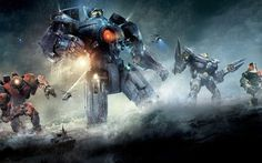 Pacific Rim Jaegers Wide #Jaegers #Pacific #Rim #Wide