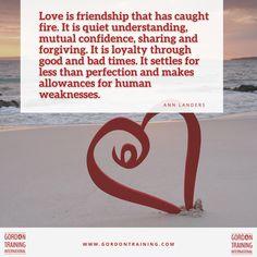 #love #friendship #relationships #gordontraining #gordonmodel Relationship Tips, Relationships, Good Parenting, Bad Timing, Leadership, Friendship, Bring It On, Training, Hacks