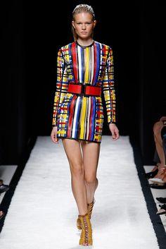 Balmain - Spring 2015 Ready-to-Wear - Look 41 of 48