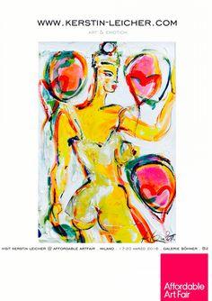 www.kerstin-leicher.com @ affordable artfair milano 2016