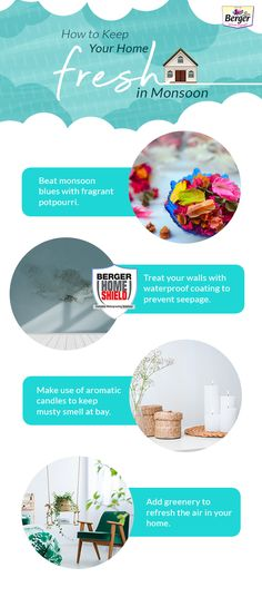 Your guide to inviting freshness inside your home this monsoon.