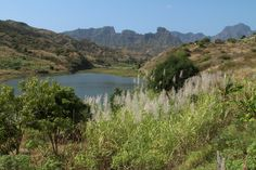 Santiago - Stausee Ribeira Secca River, Outdoor, Santiago, Tourism, Africa, Outdoors, Rivers, The Great Outdoors