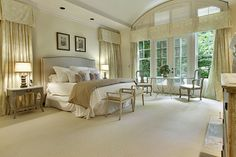 Staged Homes traditional bedroom