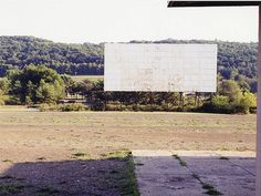 Abandoned Drive-In Movie Theater - Centralia, Pennsylvania USA.  A Ghost Town for some 50 years.....