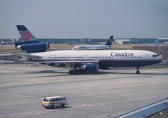 Canadian Airlines McDonnell Douglas C-GCPD at Frankfurt International Airport Canadian Airlines, Pacific Airlines, Travel Tours, Air Travel, Air North, Mcdonald Douglas, International Airlines, International Airport, Passenger Aircraft