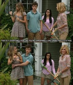 Modern Family Little hoe/ iFunny :) - I laughed loudly when I saw this scene. Modern Family Funny, Modern Family Quotes, Modern Family Haley, Modern Family Tv Show, Funny Family, Funny Cute, The Funny, Funny Memes, Jokes