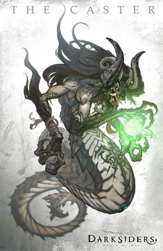 The Caster from Darksiders