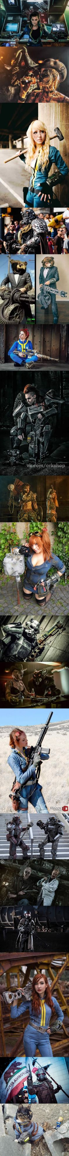 18 Epic Fallout Cosplays That Will Make You Excited For The Apocalypse