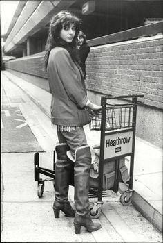 Kate Bush 1970s #style #fashion #70s