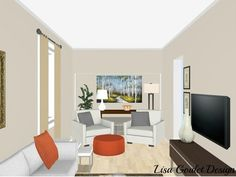 3 Genius Solutions for Living Room Layout Problems | Decorating ...