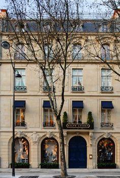 Paris store. RALPH LAUREN