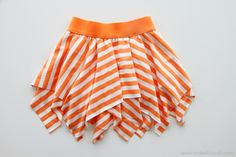 double square skirt
