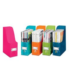 Plastic Magazine Organizer Set | Daily deals for moms, babies and kids