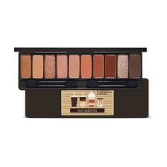 Etude House Play Color Eyes Palette Holic (No Syrup Coffee To Go Edition) - kbeauty - korean makeup - eyeshadow Revlon Eyeshadow, Makeup Eyeshadow, Lipsticks, Nail Art Kpop, Eye Palette, Eyeshadow Palette, Etude House Lip Tint, Dear Darling Tint, Make Up