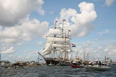 Nautical event SAIL Amsterdam 2015 is rejuvenated, renewed and expanded; Opens Wednesday